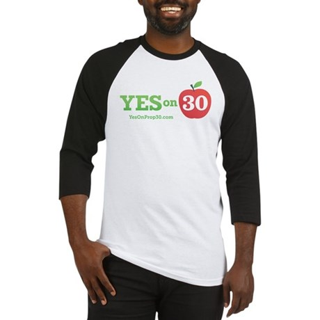 Yes On Prop 30 Baseball Jersey