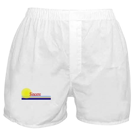 Sincere Boxer Shorts