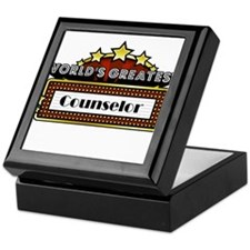 World's Greatest Counselor Keepsake Box