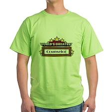 World's Greatest Counselor T-Shirt