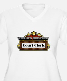 World's Greatest Court Clerk T-Shirt