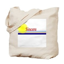 Sincere Tote Bag