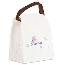 Nana Flowers Canvas Lunch Bag