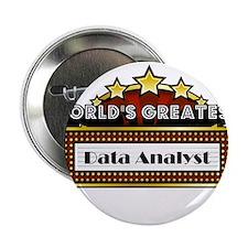 """World's Greatest Data Analyst 2.25"""" Button"""