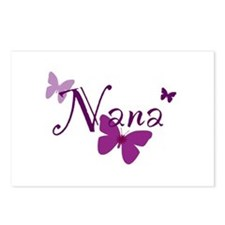 Nana Butterflys Postcards (Package of 8)