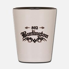 Burlington 802 Shot Glass