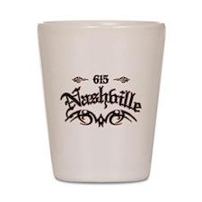 Nashville 615 Shot Glass