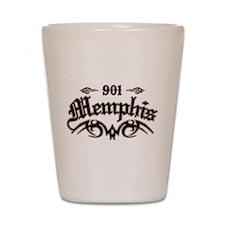 Memphis 901 Shot Glass