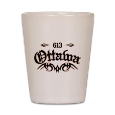 Ottawa 613 Shot Glass