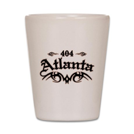 Atlanta 404 Shot Glass