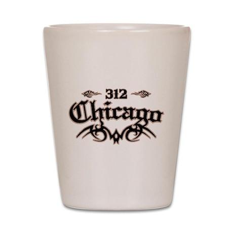 Chicago 312 Shot Glass