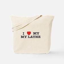 I Heart My Lathe Tote Bag