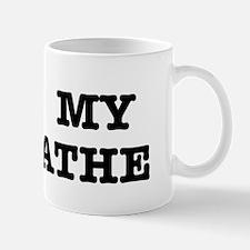 I Heart My Lathe Mug