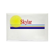 Skylar Rectangle Magnet