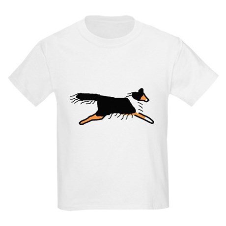 Tri-Color Sheltie Kids Light T-Shirt