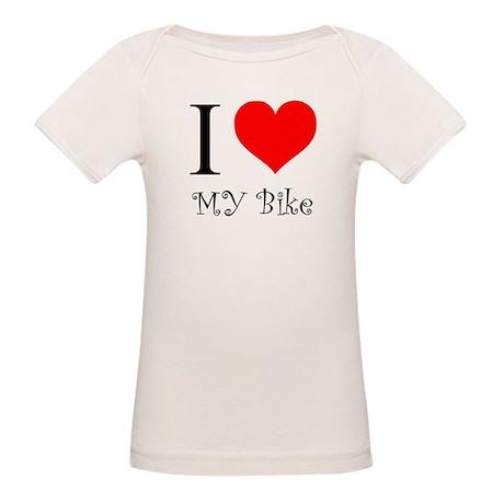 I Love my bike Organic Baby T-Shirt
