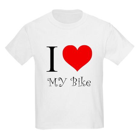 I Love my bike Kids Light T-Shirt