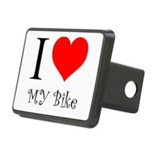 I Love my bike Hitch Cover