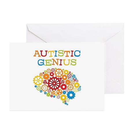 Autistic Genius Greeting Cards (Pk of 10)