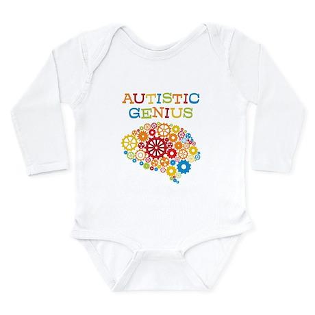 Autistic Genius Long Sleeve Infant Bodysuit