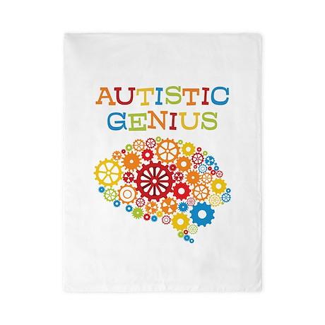 Autistic Genius Twin Duvet