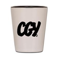 CGY Brushed Shot Glass