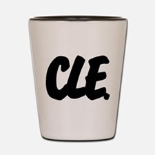 CLE Brushed Shot Glass