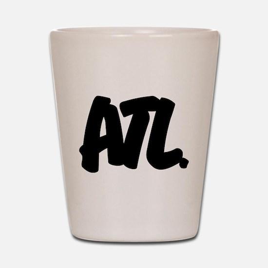 ATL Brushed Shot Glass
