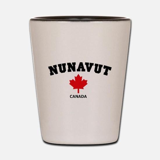 Nunavut Shot Glass