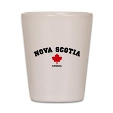 Nova Scotia Shot Glass