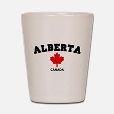 Alberta Shot Glass