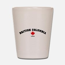 British Columbia Shot Glass