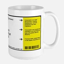 "Caffeine ""Prescription"" Large Mug"