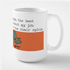 Spin Chair Ceramic Mugs