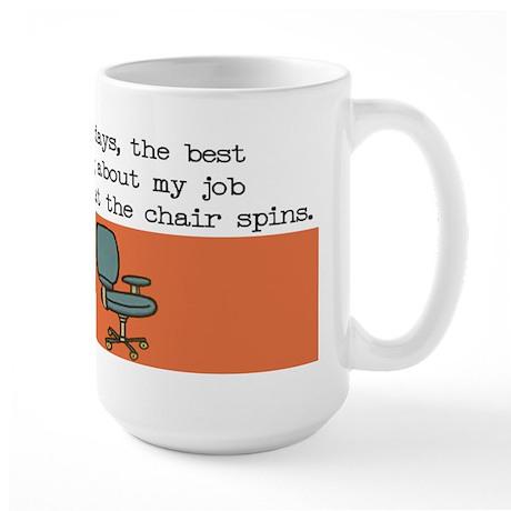 Spin Chair Large Mug