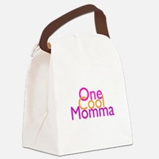 One Cool Momma Canvas Lunch Bag