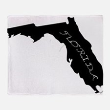 Miami Florida Throw Blanket