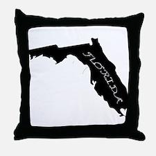 Miami Florida Throw Pillow