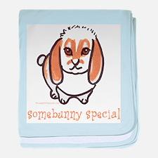 somebunny special lop baby blanket