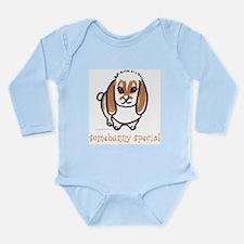 somebunny special lop Long Sleeve Infant Bodysuit