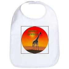 Giraffe South Africa Bib