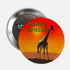 Giraffe South Africa Button