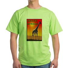 Giraffe South Africa T-Shirt