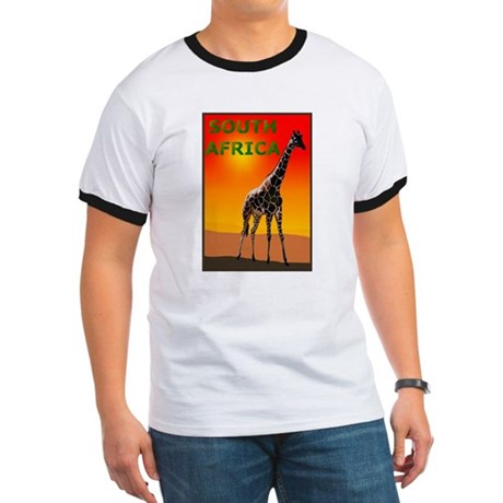 Giraffe South Africa Ringer T