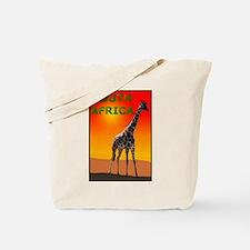 Giraffe South Africa Tote Bag