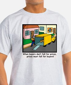 Moving Day Ash Grey T-Shirt