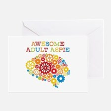 Awesome Adult Aspie Greeting Card