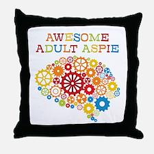 Aspie Adult Autism Throw Pillow