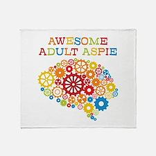 Aspie Adult Autism Throw Blanket