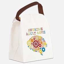 Aspie Adult Autism Canvas Lunch Bag